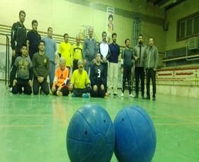 برگزاری مسابقات گلبال نابینایان در سقز
