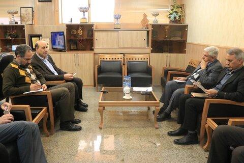 برگزاری جلسه کمیته راهبردی انسانی تأمین مسکن خانواده های دارای حداقل  دو عضو معلول و فاقد مسکن در بهزیستی استان کرمان