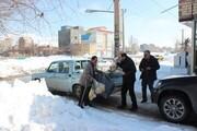 محرومان آسیبدیده از برف اردبیل و گیلان حمایت میشوند