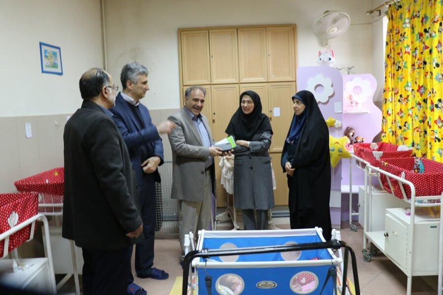 بازدید معاون مدیرکل کودکان و نوجوانان سازمان بهزیستی کشور از شیرخوارگاه مهر رشت
