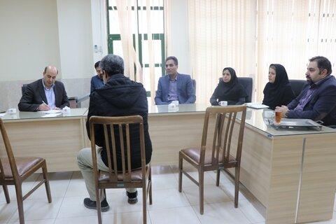 ملاقات عمومی مدیر کل بهزیستی استان کرمان با12نفر از مددجویان