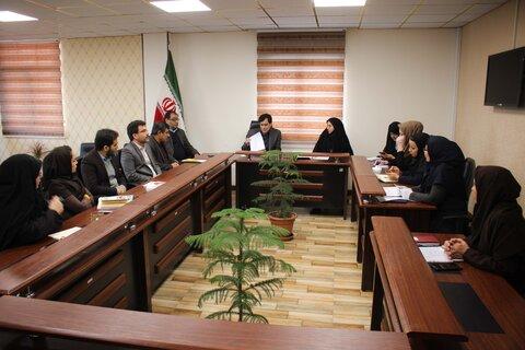 کمیته پیشگیری از بیمارهای بهزیستی البرز تشکیل جلسه داد