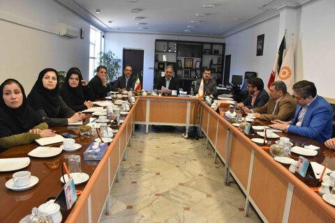 برگزاری کمیته ویژه پیشگیری از بیماری های واگیردار در اداره کل بهزیستی خراسان رضوی