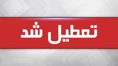 مهدهای کودک و مراکز روزانه توانبخشی استان تهران سه شنبه تعطیل است