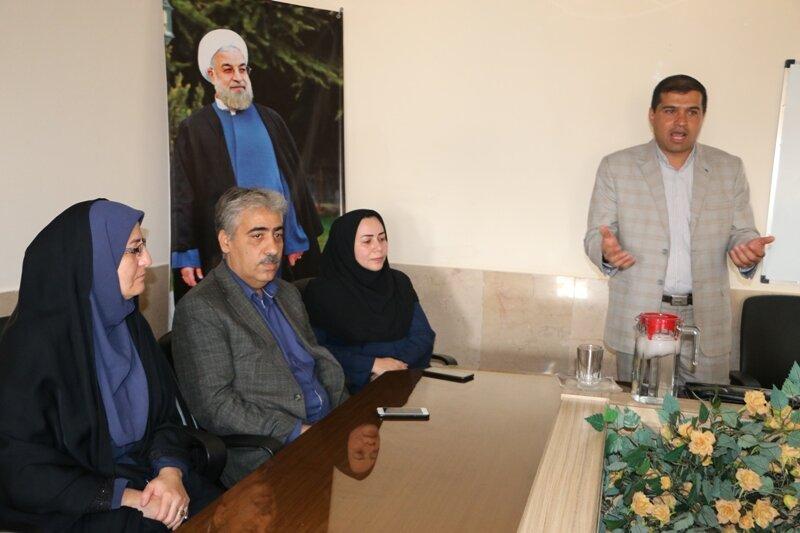 یاد دهی مدیریت تعارض در بهزیستی شهرستان کرمان
