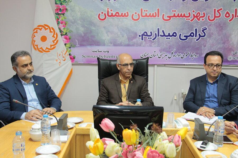 برگزاری شورای معاونین بهزیستی استان سمنان