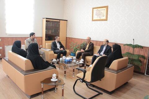 دیدار مدیر کل بهزیستی استان سمنان با دادستان سمنان