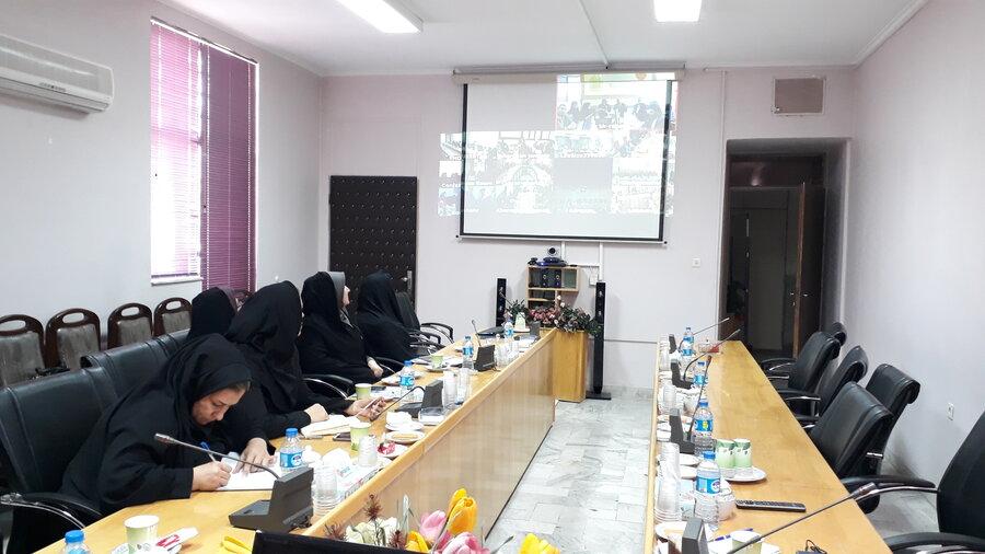 برگزاری جلسه ویدئو کنفرانس کشوری با موضوع جلوگیری از شیوع ویروس کورنا