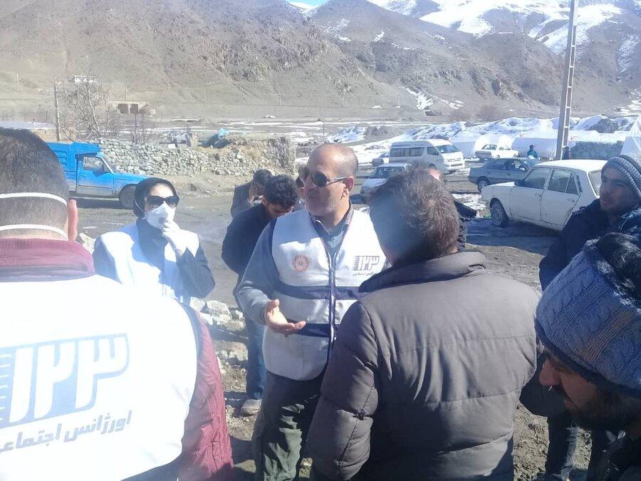 تخریب سه هزار و ۵۰۰ واحد مسکونی در زلزله شهر مرزی «قطور» در استان آذربایجان غربی