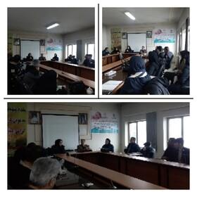ساوجبلاغ | برگزاری کلاس آموزشی با عنوان پدافند زیستی«کرونا»