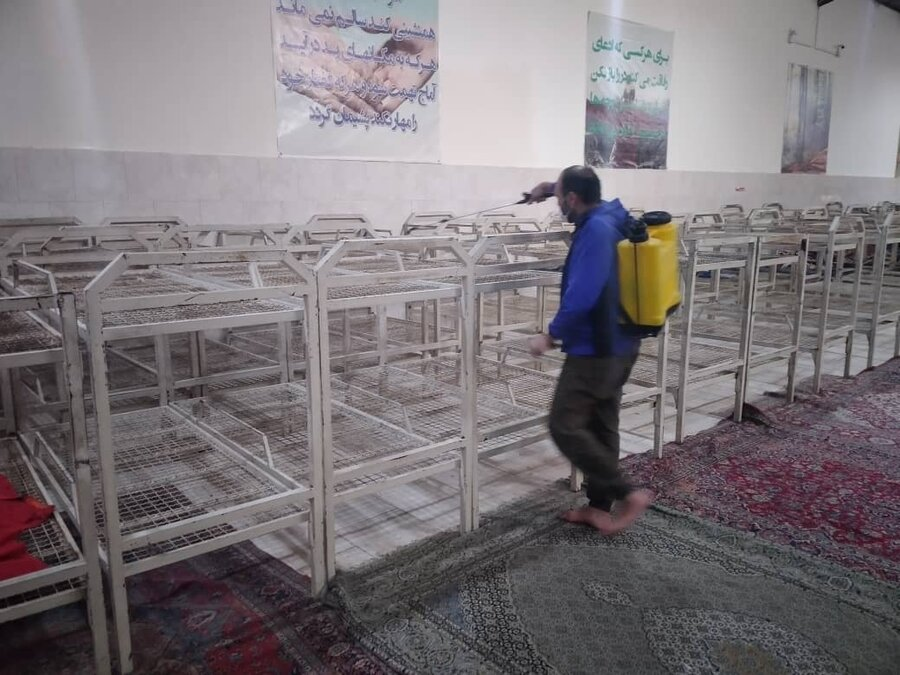 گزارش تصویری تجمیعی| عملیات ضدعفونی و گندزدایی برای پیشگیری از انتشار ویروس کرونا در ادارات و مراکز بهزیستی استانها در سراسر کشور
