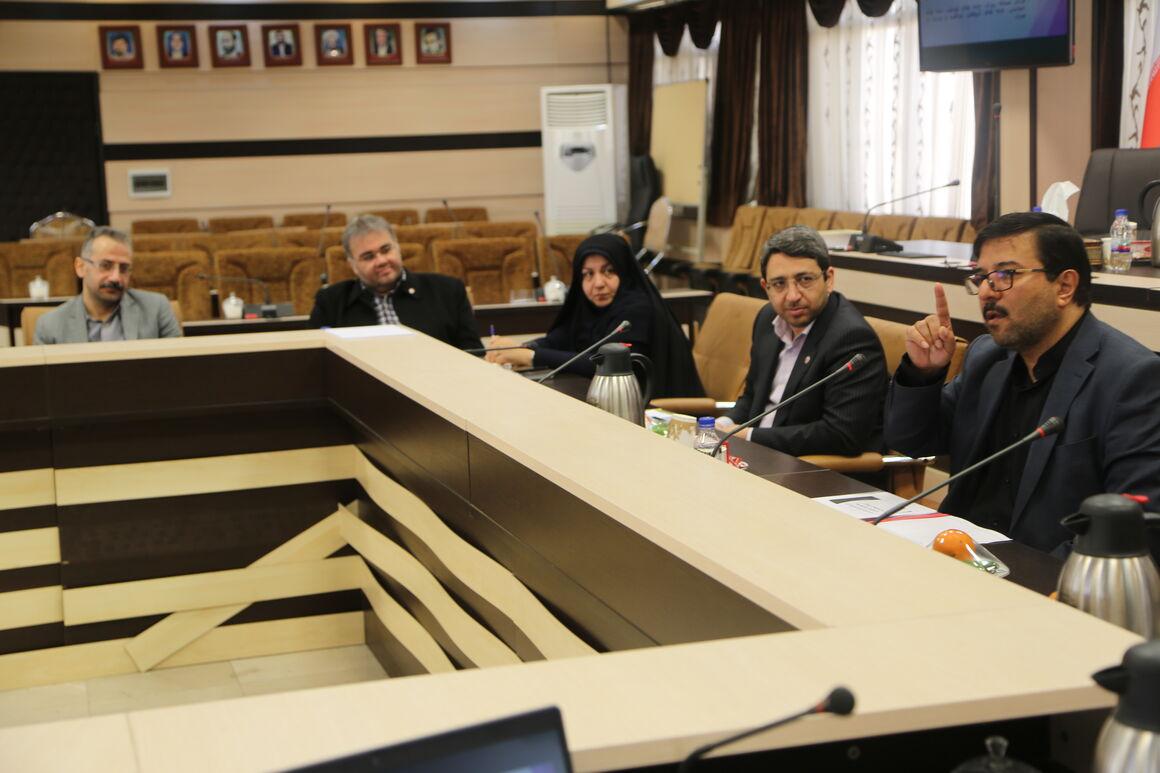 جلسه کمیته پیشگیری و کنترل بیماری ها در سازمان