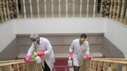 اهدای اقلام صندوق جمعیت سازمان ملل متحد به مراکز نگهداری سالمندان بهزیستی جهت پیشگیری از شیوع کرونا