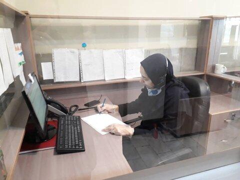 گزارش تصویری| خدمات مشاوره مرکز 1480 در مقابله با استرس ابتلا به کرونا ویروس