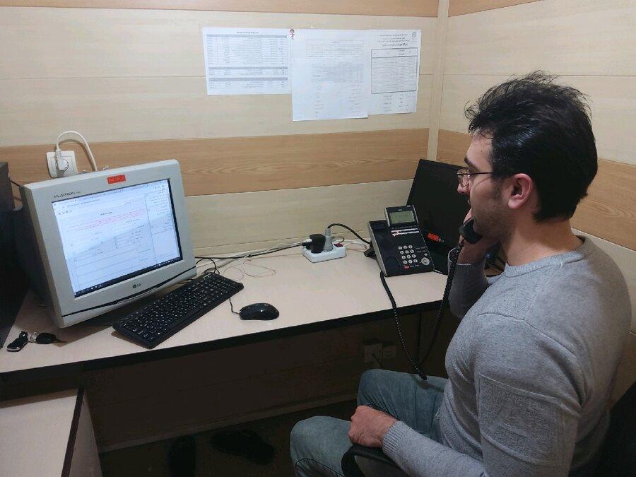 گزارش تصویری|  همراهی خط تلفن 1480در شکست دادن کرونا