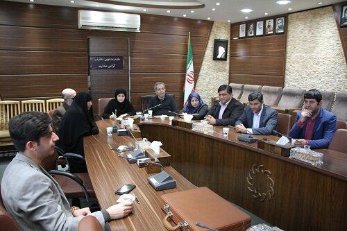 گزارش تصویری|نشست سرپرست اداره کل بهزیستی استان با اعضای تشکل های معلولین استان