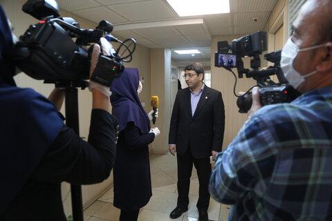 بازدید رئیس سازمان بهزیستی کشور از مرکز مشاوره ۱۴۸۰