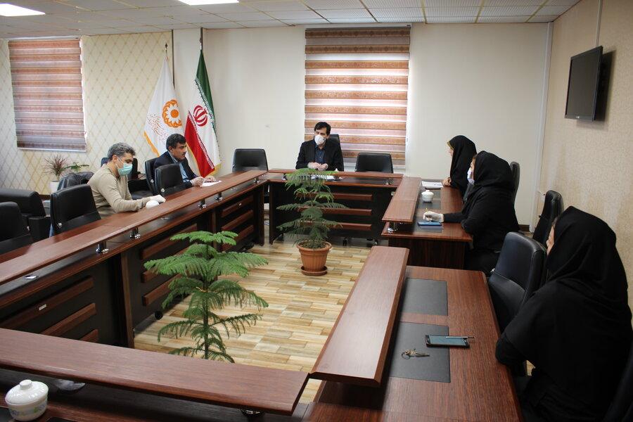 کمیته پیشگیری از بیماری های واگیر ادره کل بهزیستی استان تشکیل شد