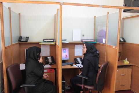 گزارش تصویری ا حضور مدیرکل در مرکز مداخله در بحران های اجتماعی
