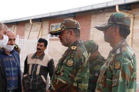 ضدعفونی مراکز تحت نظارت بهزیستی استان کرمان توسط نیروی ارتش جمهوری اسلامی  ادامه دارد