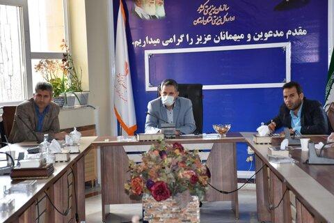 هشتمین جلسه کمیته پیشگیری از شیوع ویروس کرونا در بهزیستی استان لرستان برگزار شد