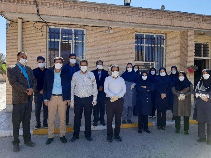 500 ماسک اهدایی مرکز دوخت سیریز در بین کارکنان و مقیمان مراکز بهزیستی زرند توزیع شد