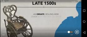 فیلم| تاریخچه سلامت:ویلچر