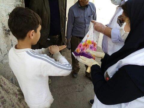 اعمال محدودیت در مراجعات حضوری اورژانساجتماعی /آغاز توزیع بستههای بهداشتی بین کودکان کار