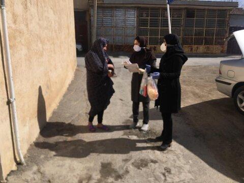توزیع اقلام بهداشتی