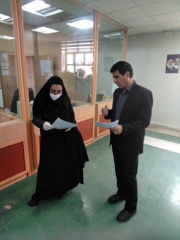 گزارش تصویری بازدید مدیر کل بهزیستی ایلام از مراکز ۱۴۸۰ و ۱۲۳
