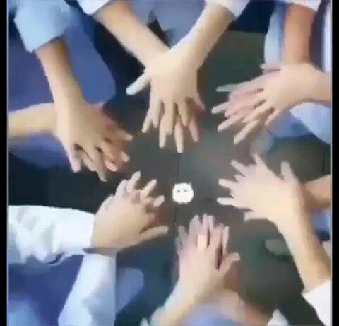 فیلم آموزش مجازی شستن دستها به کودکان مهدهای کودک