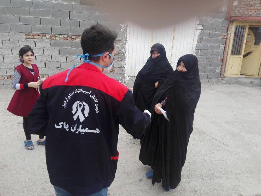 گندزدایی و ضد عفونی مراکز اقامتی معتادان بهزیستی استان