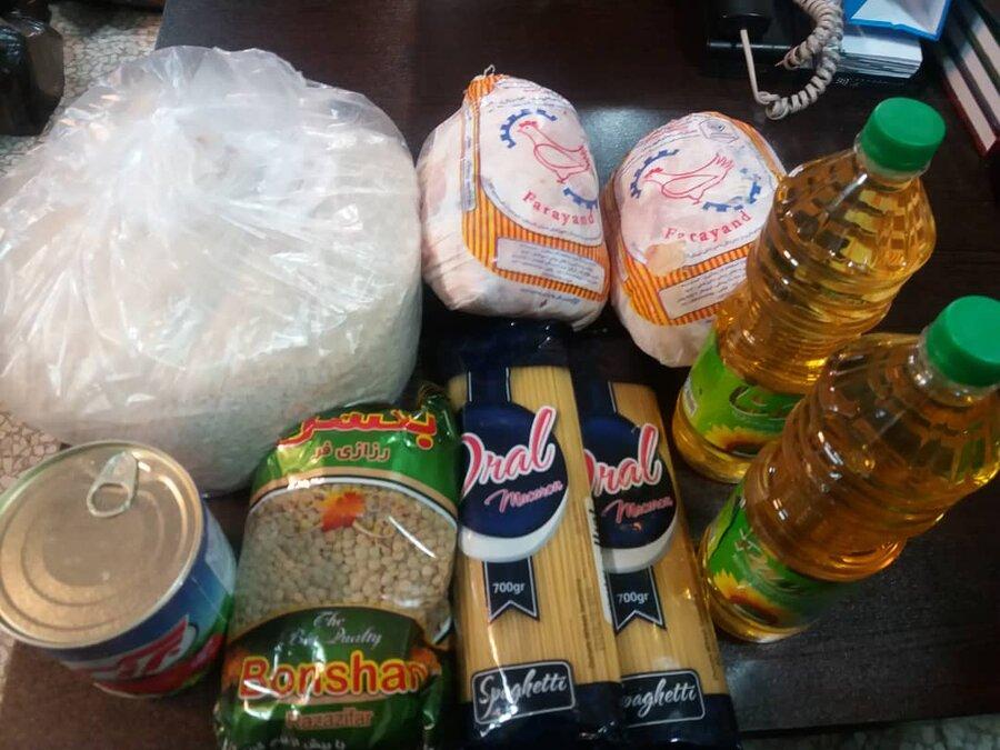ری | 1400 بسته بهداشتی و کالاهای اساسی توزیع شد