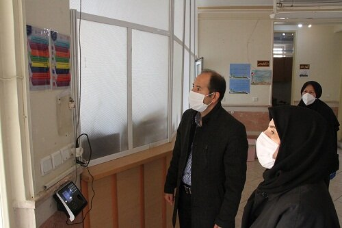 گزارش تصویری|بازدید دکتر صحاف ، سرپرست اداره کل بهزیستی استان از شیرخوارگاه احسان