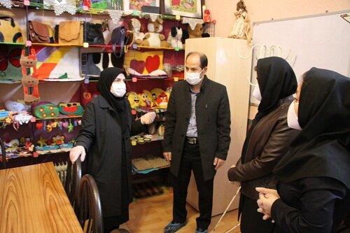 گزارش تصویری|بازدید دکتر صحاف ، سرپرست اداره کل بهزیستی استان از مرکز نگهداری بیماران روانی مزمن روان آسا