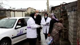گزارش تصویری |توزیع لوازم بهداشتی در مناطق حاشیه توسط تیم سیار اورژانس اجتماعی بهزیستی مازندران