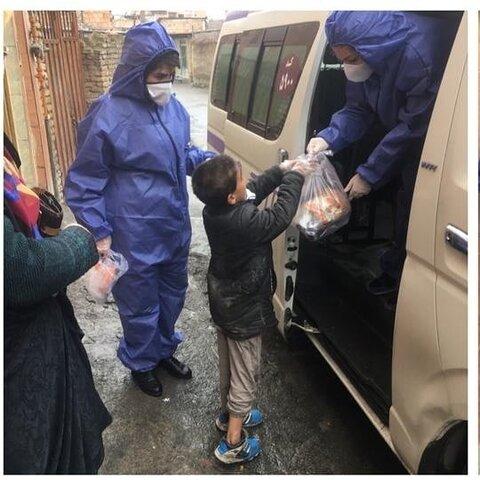 آغاز اجرای مرحله دوم توزیع بسته های آموزشی و بهداشتی در میان کودکان کار وخیابانی در گلستان