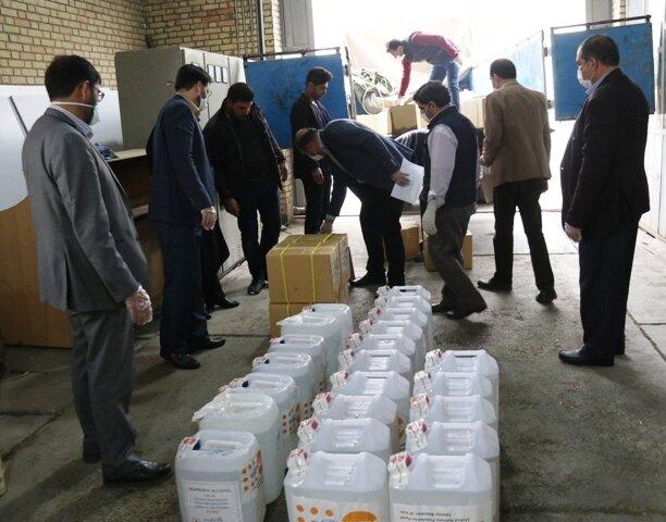 اصفهان  اقلام اهدایی صندوق جمعیت سازمان ملل متحد به بهزیستی استان رسید