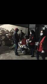 اقدامات اداره کل بهزیستی مازندران با همکاری ستاد مبارزه با مواد مخدر استان جهت کنترل شیوع ویروس کرونا در میان افراد بیخانمان و معتادان متجاهر