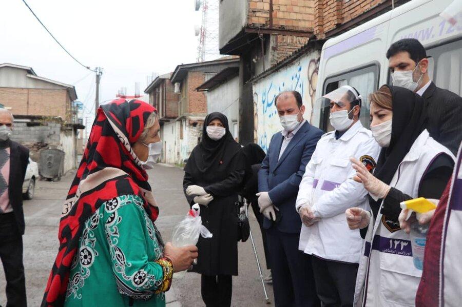 آمل | بازدید معاون امور اجتماعی بهزیستی مازندران از روند اقدامات پیشگیرانه در  مناطق حاشیه شهرستان آمل