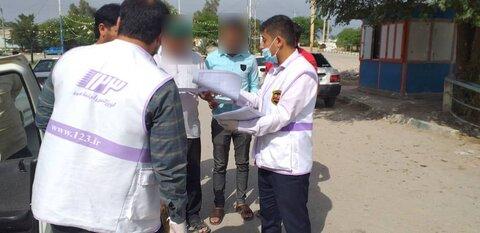 اقدامات اورژانس اجتماعی و تیم محب بهزیستی خوزستان در نیمه اول تعطیلات نوروزی