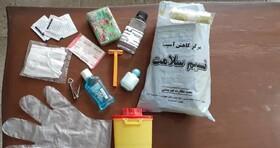 ارائه خدمات موبایل ون و موبایل سنتر در مناطق پرخطر استان