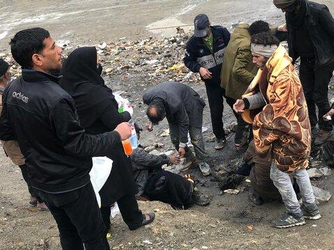 گزارش | ارائه خدمات بهداشتی در مراکز تجمع و پاتوق های معتادین متجاهردر مشهد و نیشابور