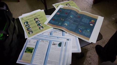 سیروان/ گزارش تصویری/ توزیع اقلام بهداشتی در مناطق آسیب زا در سیروان