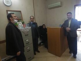بازدید مدیر کل بهزیستی استان قم از مرکزمشاوره تلفنی 1480