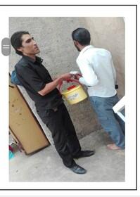 گزارش تصویری | ارائه خدمات بهداشتی در مراکز تجمع و پاتوق های معتادین متجاهردر قزوین