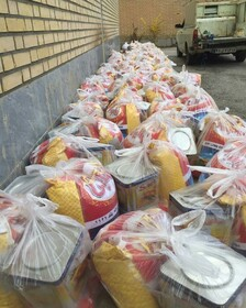 توزیع ۱۰۰ بسته جیره خشک در بین مددجویان بهزیستی ارومیه