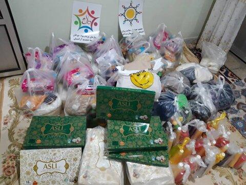 گزارش تصویری/توزیع اقلام بهداشتی توسط پایگاه سلامت روان شهرستان بروجن