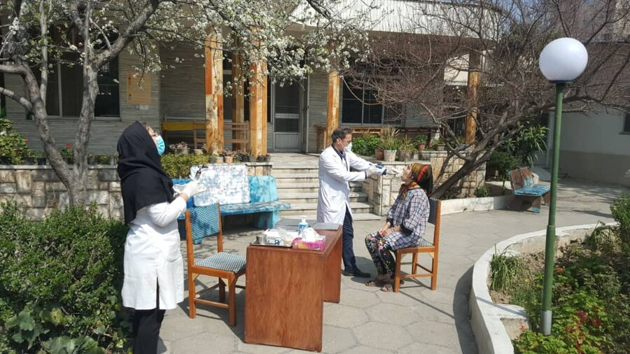 اقدامات پیشگیرانه مراکز توانبخشی شبانه روزی در جهت کنترل شیوع ویروس کرونا