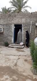 اهدای البسه وبسته های بهداشتی به جامعه هدف بهزیستی استان